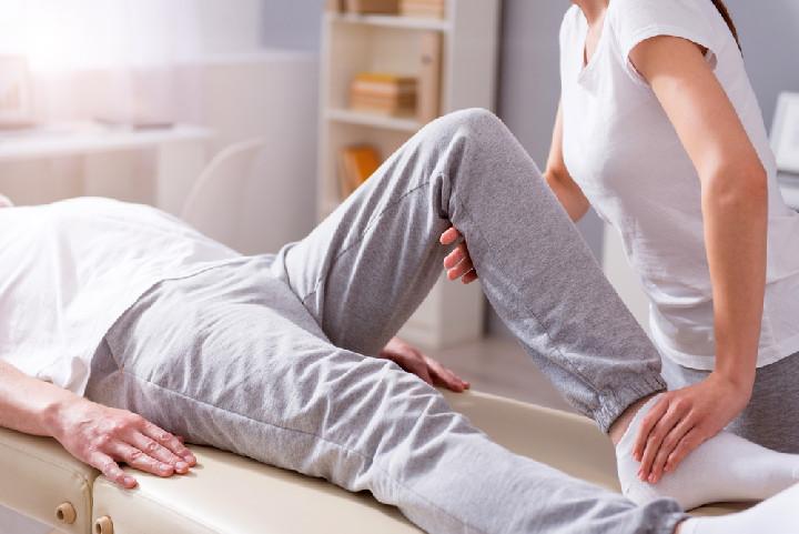 Rehabilitációs terapeuta illusztráció